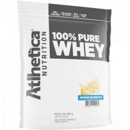 100% Pure Whey (850g) Refil - baunilha