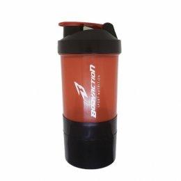 Coqueteleira Shaker 3 doses Vermelha (600ml)